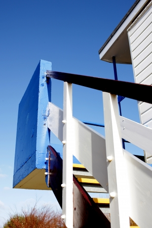 Beach Hut Staircase photo
