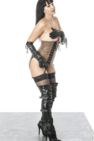 Thigh High Boots Stock Photos & Pictures. Royalty Free Thigh High ...