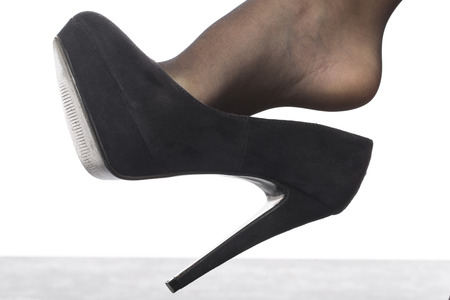 stocking feet: High Heel Shoes and Stockings