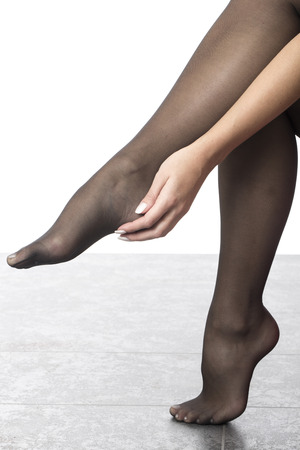 stocking feet: Stocking Feet