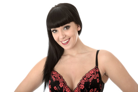 Young Pin Up Model in Sexy Lingerie photo