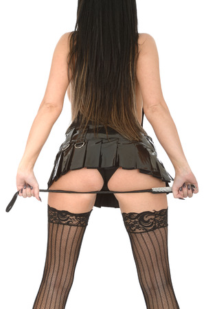 Attraente Giovane Pin Up Fetish Modello