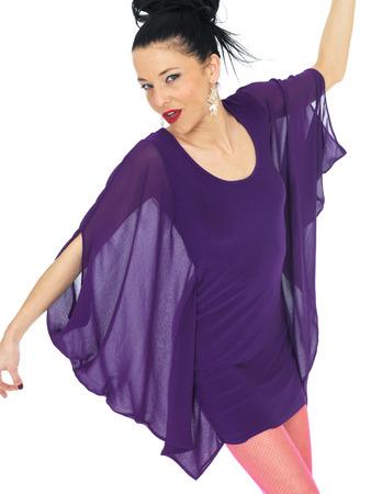 hold ups: Sexy Young Wearing Woman Short Mini Dress