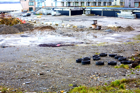 urban decay: Urban Decay Neglected Wasteland Stavanger Norway