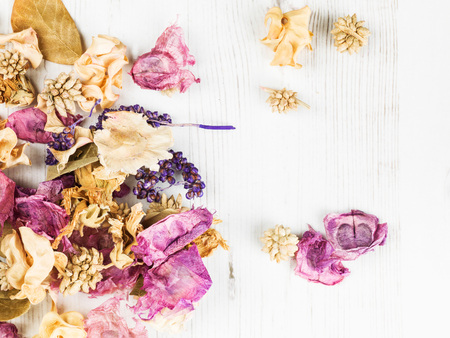 potpourri: Dried Flowers Potpourri Scented Home Decorations Looking Down