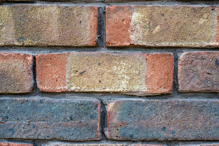 Brickwork or Brick Wall Textured Background In A Building