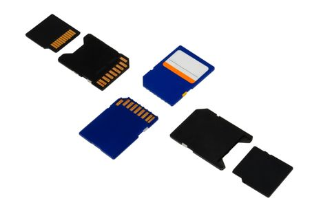memory cards and adapters