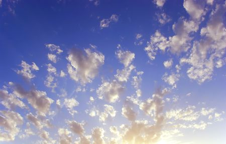 clouded: fluffy clouds background