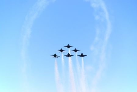 afterburner: formation of airplanes