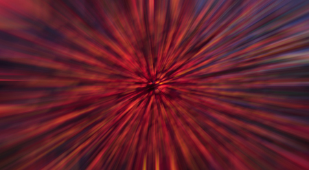 Abstract background made of blurred colorful, mostly red lights. Foto de archivo
