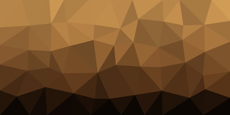 Dark to light brown, low poly vector gradient texture. Colorful polygonal illustration, good as a cell phone, marketing material, or website background. All polygons are in separate layers.
