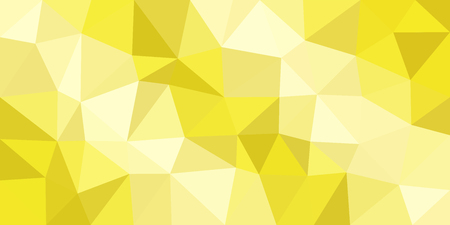 White yellow low poly vector gradient background. Polygonal texture, good as a cell phone, marketing material, or website backdrop. All polygons are in separate layers.