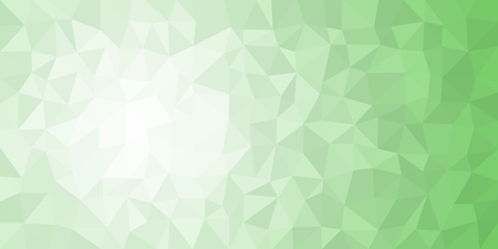 White green low poly vector gradient texture. Colorful polygonal illustration, good as a cell phone, marketing material, or website background. All polygons are in separate layers.