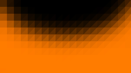 Orange black low poly vector gradient texture. Colorful polygonal illustration, good as a cell phone, marketing material, or website background. All polygons are in separate layers.