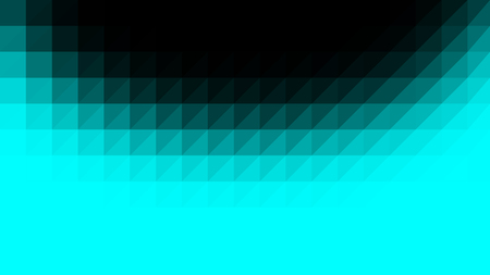 Cyan black low poly vector gradient texture. Colorful polygonal illustration, good as a cell phone, marketing material, or website background. All polygons are in separate layers.
