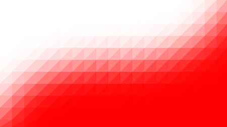 Red White low poly vector gradient texture. Colorful polygonal illustration, good as a cell phone, marketing material, or website background. All polygons are in separate layers.