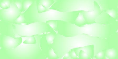 Green metallic vector gradient background with wavy cracks and blobs.