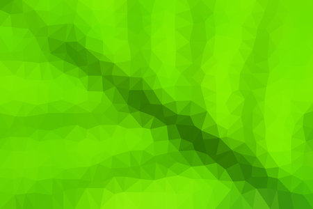 Low poly vector background looking like a leaf surface with veins. Illustration