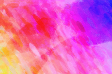 Orange pink purple watercolor gradient background. Colorful digital illustration simulating true watercolor with paper texture.