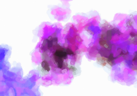 Magenta, purple, and black blotches, watercolor gradient background. Colorful digital illustration simulating true watercolor with paper texture.