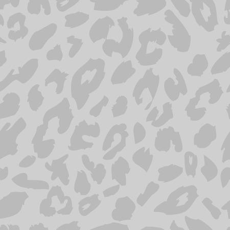 Leopard skin pattern. Seamless animal fur pattern