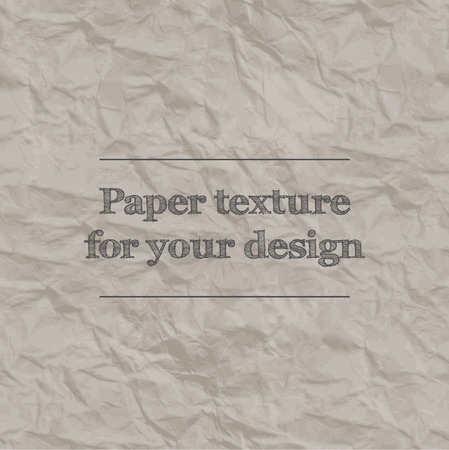 crumpled paper: Seamless texture crumpled paper. Gray color. Repeating pattern.