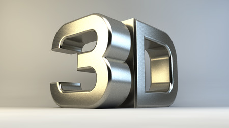 surround: Large three-dimensional letters. Modern surround the font.