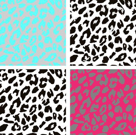 seamless leopard print pattern leopard fur vector royalty free rh 123rf com leopard print vector svg leopard print vector file