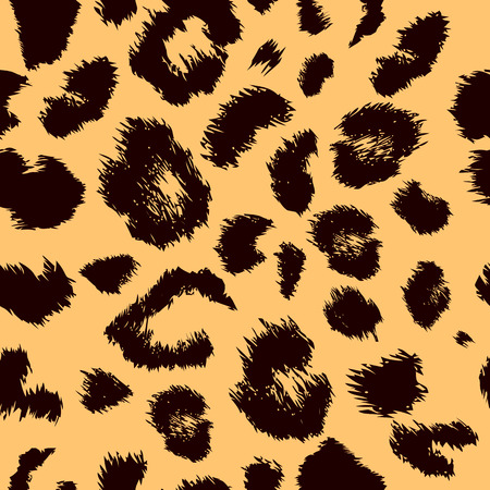 repeating: Leopard print pattern. Repeating seamless vector animal background
