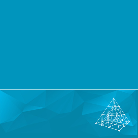 abstract template: Abstract geometrical background. The template design booklet, brochure, banner, document. Vector