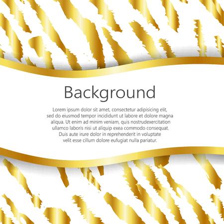 Fondo abstracto con diseño de la impresión del tigre. Vector, EPS10