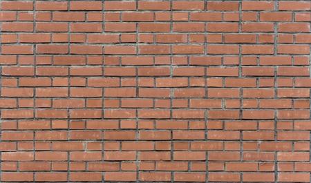 paredes de ladrillos: Pared de ladrillo rojo. Paredes de ladrillo rojo. Ladrillo Uniforme Foto de archivo