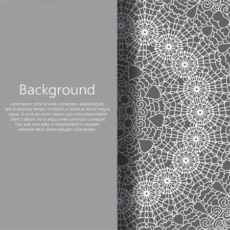 abstract background vector: Vector abstract background. Vector booklet list. Abstract ornament. Orient traditional ornament.