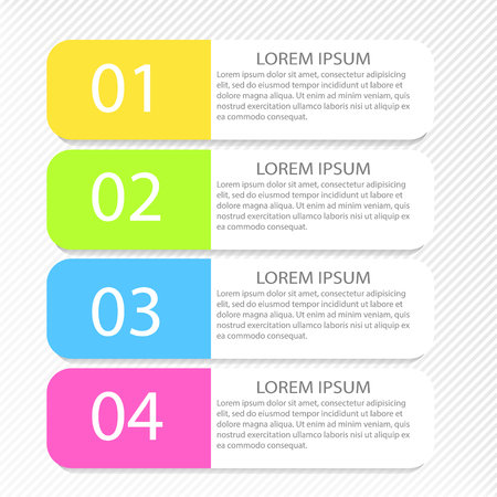 Moderne Inforgraphic Vorlage. Kann Für Banner, Website-Vorlagen Und ...