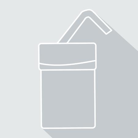 soda pop: soda pop icon with glaze. Vector Illustration  Illustration