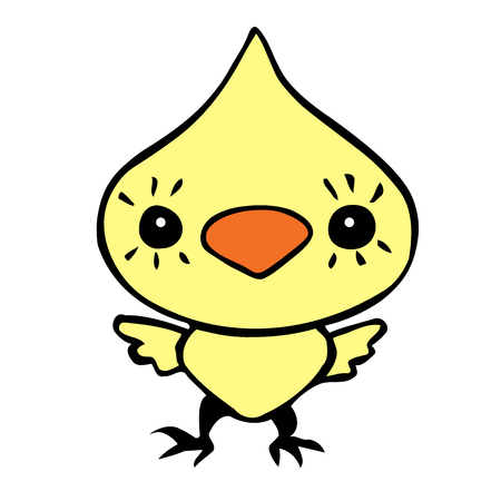 chicken cartoon illustration.