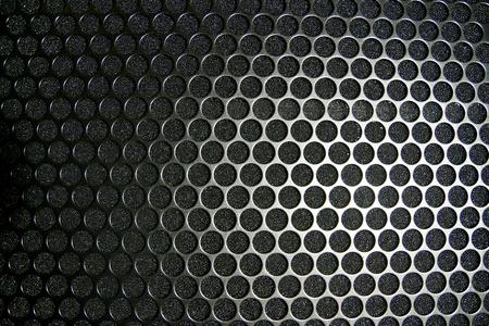 estudio de grabacion: textura de sonido altavoz Foto de archivo