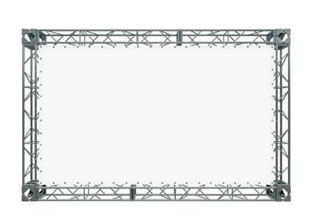 banner on truss photo