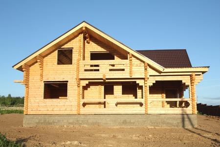 house under construction Stock Photo - 10284794