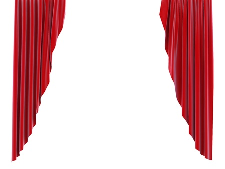 opening: red curtain