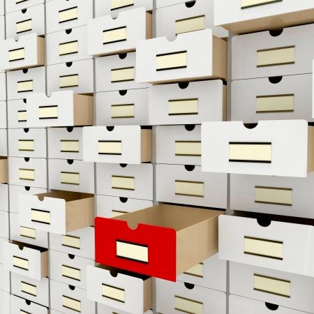 vintage database photo
