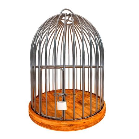 Closed cage photo