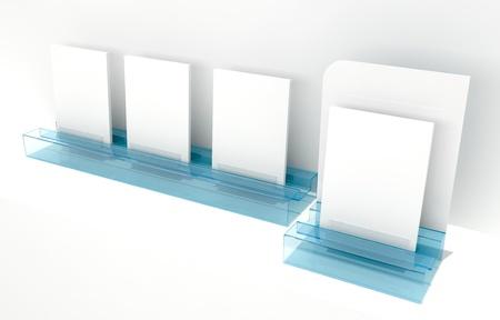 blank advertising module photo