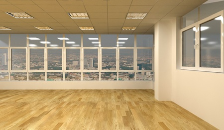 clear office interior
