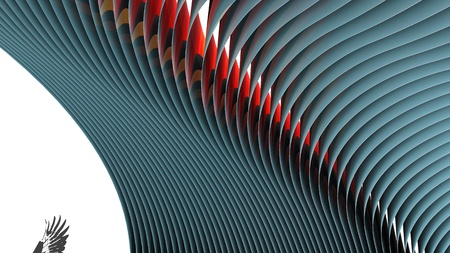abstract stripes pattern background Stock Photo - 12620480