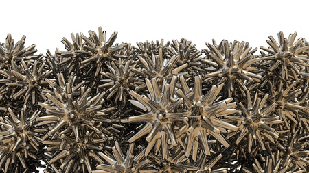 abstract 3d metal background Stock Photo - 12620527