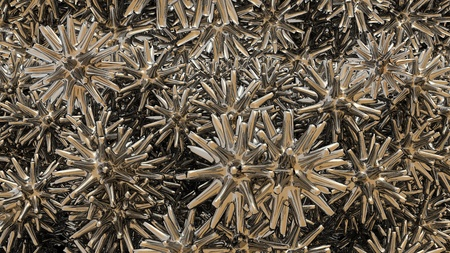 abstract 3d metal background Stock Photo - 12620529