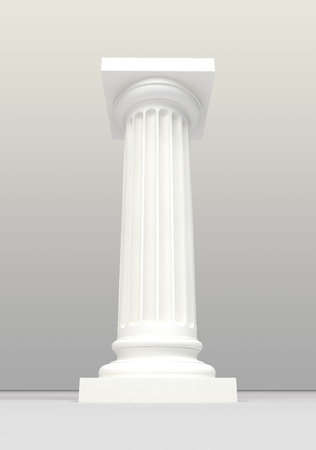 white column photo