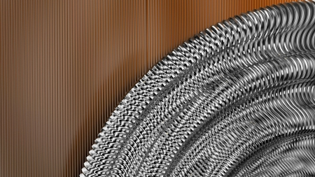 metal abstract background Stock Photo - 18838788
