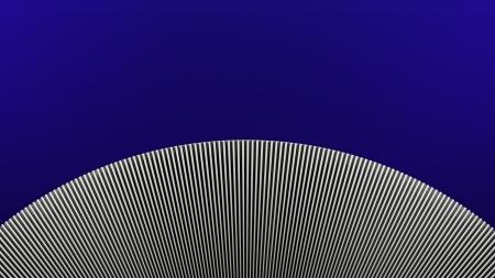 brushed aluminum background: relief shape Stock Photo